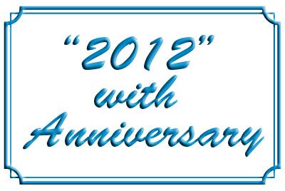 2012 with annyversary